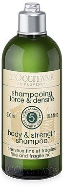 Kraft & Fülle Shampoo für feines, strapaziertes Haar - L'Occitane Aromachologie Shampooing Force — Bild N1