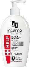 Düfte, Parfümerie und Kosmetik Antibakterielle beruhigende Emulsion für die Intimhygiene - AA Intimate Help+