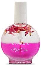 Düfte, Parfümerie und Kosmetik Nagelöl mit rosa Blumen - Kabos Nail Oil Pink Flowers