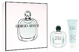 Düfte, Parfümerie und Kosmetik Giorgio Armani Acqua di Gioia - Duftset (Eau de Parfum/30ml + Körperlotion/75ml)
