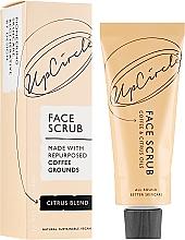 Düfte, Parfümerie und Kosmetik Kaffee-Körperpeeling mit Zitrusölen - UpCircle Coffee Face Scrub Citrus Blend