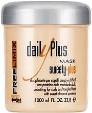 Düfte, Parfümerie und Kosmetik Glättende Haarmaske mit süßen Mandelproteinen - Freelimix Daily Plus Sweety Plus Mask