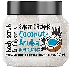 Düfte, Parfümerie und Kosmetik Revitalisierendes Faser-Peeling mit Kokosnuss - MonoLove Bio Coconut-Aruba Revitalizing Body Scrub