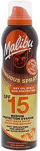 Düfte, Parfümerie und Kosmetik Sonnenschützendes trockenes Körperöl-Spray SPF 15 - Malibu Continuous Dry Oil Spray SPF 15
