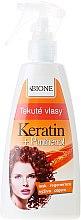 Düfte, Parfümerie und Kosmetik Regenerierender Haarspray mit Keratin und Panthenol - Bione Cosmetics Keratin + Panthenol Liquid Hair