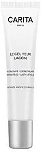 Düfte, Parfümerie und Kosmetik Feuchtigkeitsspendendes Gel für die Augenpartie gegen müde Haut - Carita Le Gel Yeux Lagon