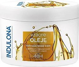 Düfte, Parfümerie und Kosmetik Pflegende Körpercreme mit Ölen - Indulona Nourishing Body Cream With Rare Oils