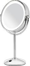 Düfte, Parfümerie und Kosmetik Doppelseitiger Kosmetikspiegel mit Ständer und LED-Beleuchtung 9436E - BaByliss