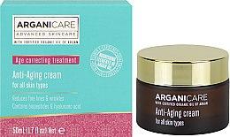 Düfte, Parfümerie und Kosmetik Anti-Aging Gesichtscreme mit Arganöl und Hyaluronsäure - Arganicare Shea Butter Anti Aging Cream