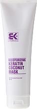 Düfte, Parfümerie und Kosmetik Feuchtigkeitsspendende Haarmaske mit Keratin und Kokos - Brazil Keratin Coconut Mask