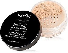 Düfte, Parfümerie und Kosmetik Loser Mineralpuder - NYX Professional Makeup Mineral Matte Finishing Powder