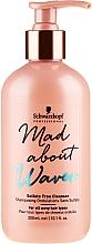 Düfte, Parfümerie und Kosmetik Sulfatfreies Shampoo für lockiges Haar - Schwarzkopf Professional Mad About Waves Sulfate Free Cleanser
