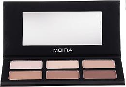 Düfte, Parfümerie und Kosmetik Highlighter- und Konturierpalette - Moira Highlight & Contour Palette