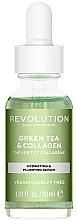 Düfte, Parfümerie und Kosmetik Gesichtsserum mit grünem Tee und Kollagen - Revolution Skincare Green Tea And Collagen Serum