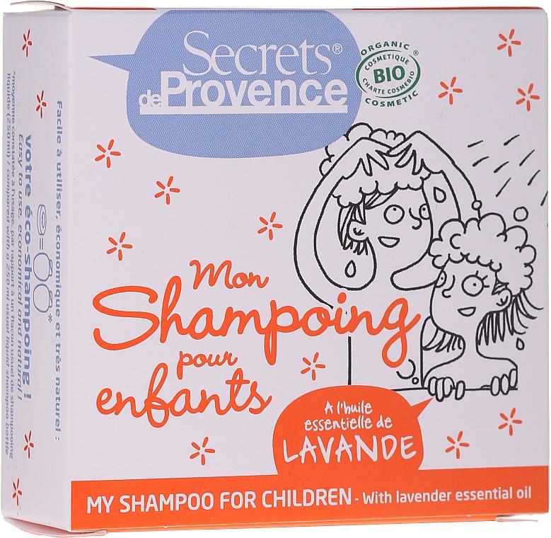 Festes Shampoo mit Lavendel - Secrets De Provence My Children Shampoo Lavender Essential Oil