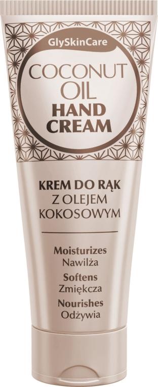 Feuchtigkeitsspendende und pflegende Handcreme mit Kokosöl - GlySkinCare Coconut Oil Hand Cream