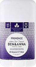 Düfte, Parfümerie und Kosmetik Natürlicher Soda Deo-Stick Provence - Ben & Anna Natural Soda Deodorant Provence