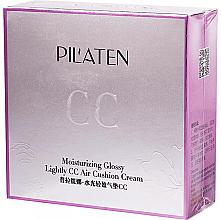Düfte, Parfümerie und Kosmetik Feuchtigkeitsspendende CC Creme-Cushion - Pil'aten Moisturising Glossy CC Air Cushion Cream