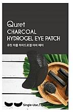 Düfte, Parfümerie und Kosmetik Hydrogel-Augenpatches mit Aktivkohle - Quret Charcoal Hydrogel Eye Patch