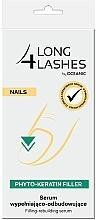 Düfte, Parfümerie und Kosmetik Aufbauendes Nagelserum - Long4Lashes Nails Phyto Keratin