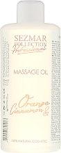 Düfte, Parfümerie und Kosmetik Massageöl Orange und Zimt - Sezmar Collection Professional Massage Oil Orange&Cinnamon