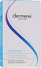 Stimulierendes Shampoo gegen Haarausfall und zum Wachstum - Dermena Hair Care Shampoo — Bild N4