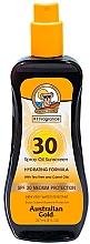 Düfte, Parfümerie und Kosmetik Sonnenschutzöl in Sprayform SPF 30 - Australian Gold Spray Oil Hydrating Formula SPF30