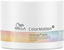 Düfte, Parfümerie und Kosmetik Regenerierende Maske für gefärbtes Haar mit Bond-Wirkstoff - Wella Professionals Color Motion+ Structure Mask (Mini)
