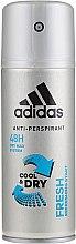 "Düfte, Parfümerie und Kosmetik Deodorant Natural Spray ""Pret a Porter"" - Adidas Anti-Perspirant Fresh Cool Dry 48h"