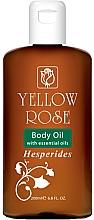 Düfte, Parfümerie und Kosmetik Cytrusowy olejek do ciała  - Yellow Rose Body Oil Hesperides
