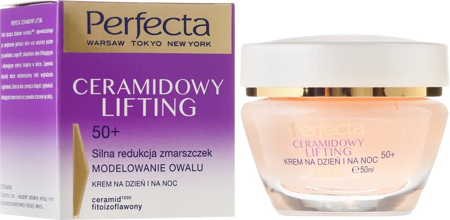 Anti-Aging Gesichtscreme - Perfecta Ceramid Lift 50+ Face Cream