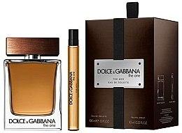 Düfte, Parfümerie und Kosmetik Dolce & Gabbana The One For Men - Duftset (Eau de Toilette/100ml + Mini/10ml)