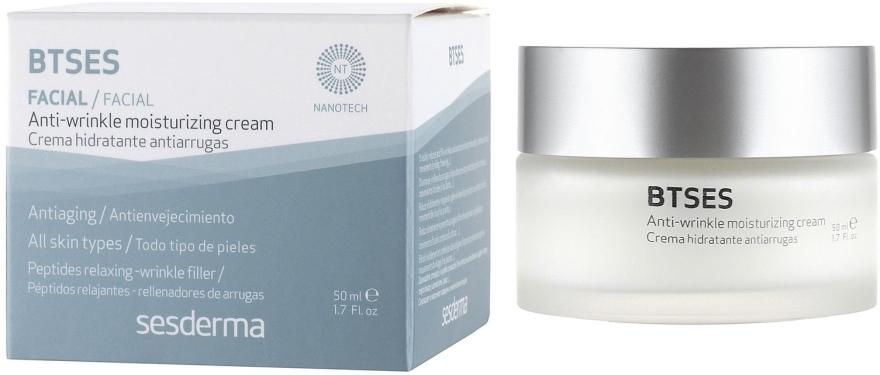 Feuchtigkeitsspendende Anti-Falten Gesichtscreme - SesDerma Laboratories BTSeS Anti-wrinkle Cream — Bild N1