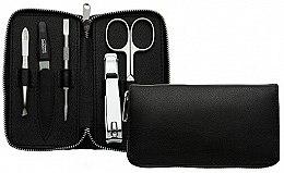 Düfte, Parfümerie und Kosmetik Maniküre-Set schwarz - DuKaS Premium Line 6-piece Manicure Set PL 1693CN