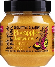 Düfte, Parfümerie und Kosmetik Glättendes Körperpeeling mit Ananas - MonoLove Bio Pineapple-Jamaica Tonus & Smoothness Scrub