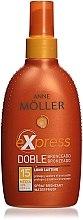 Düfte, Parfümerie und Kosmetik Selbstbräuner-Sonnenschutzspray für den Körper SPF 15 - Anne Moller Express Bronzante SPF15