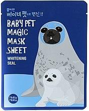 Düfte, Parfümerie und Kosmetik Aufhellende Tuchmaske - Holika Holika Baby Pet Magic Mask Sheet Whitening Seal