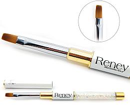 Düfte, Parfümerie und Kosmetik Manikürepinsel - Reney Cosmetics Pro Flat AN04