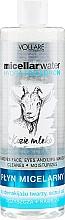 Düfte, Parfümerie und Kosmetik Feuchtigkeitsspendende Mizellen-Reinigungswasser mit Hyaluronsäure und Ziegenmilch - Vollare Goat's Milk Micellar Water Hedra Hyaluron