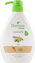 Düfte, Parfümerie und Kosmetik Creme-Seife mit Olive - Dermomed Oliva Cream Soap