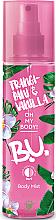 Düfte, Parfümerie und Kosmetik Körpernebel Frangipani & Vanille - B.U. Frangipani & Vanilla Body Mist