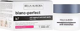 Düfte, Parfümerie und Kosmetik Gesichtscreme gegen dunkle Flecken für trockene Haut - Bella Aurora B7 Dry Skin Daily Anti-Ageing Anti-Dark Spot Care