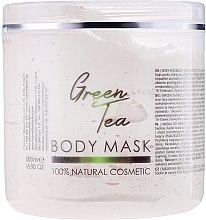 Düfte, Parfümerie und Kosmetik Gesichts- und Körpermaske mit grünem Tee - Sezmar Collection Professional Body Mask Green Tea