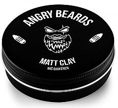 Düfte, Parfümerie und Kosmetik Mattierende Haarstylingpomade - Angry Beards Mic Bjukenen Matt Clay