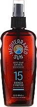 Düfte, Parfümerie und Kosmetik Bräunungsöl mit Kokosnuss SPF 15 - Mediterraneo Sun Coconut Suntan Oil Dark Tanning SPF15