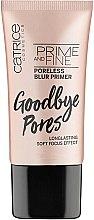 Düfte, Parfümerie und Kosmetik Glättender Gesichtsprimer für porenfreien Teint - Catrice Prime And Fine Poreless Blur Primer