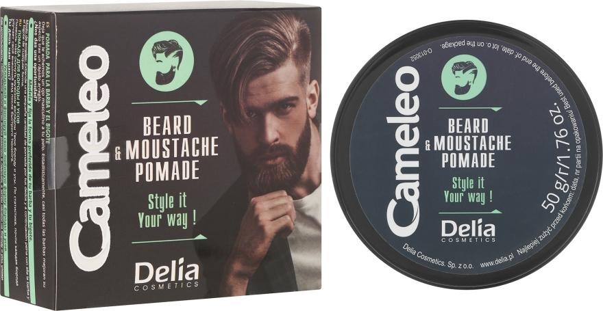 Bart-und Schnurrbartwachs - Delia Cameleo Men Beard and Moustache Pomade