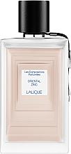 Düfte, Parfümerie und Kosmetik Lalique Oriental Zinc - Eau de Parfum