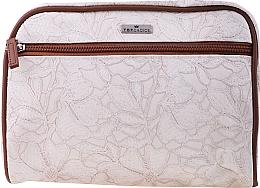 Düfte, Parfümerie und Kosmetik Kosmetiktasche Lace 98628 beige-cremefarbig - Top Choice