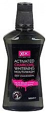 Düfte, Parfümerie und Kosmetik Bleichendes Mundwasser mit Aktivkohle - Xoc Activated Charcoal Whitening Mouthwash